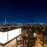 東京スカイツリー側・テラス席《4名様×20卓》