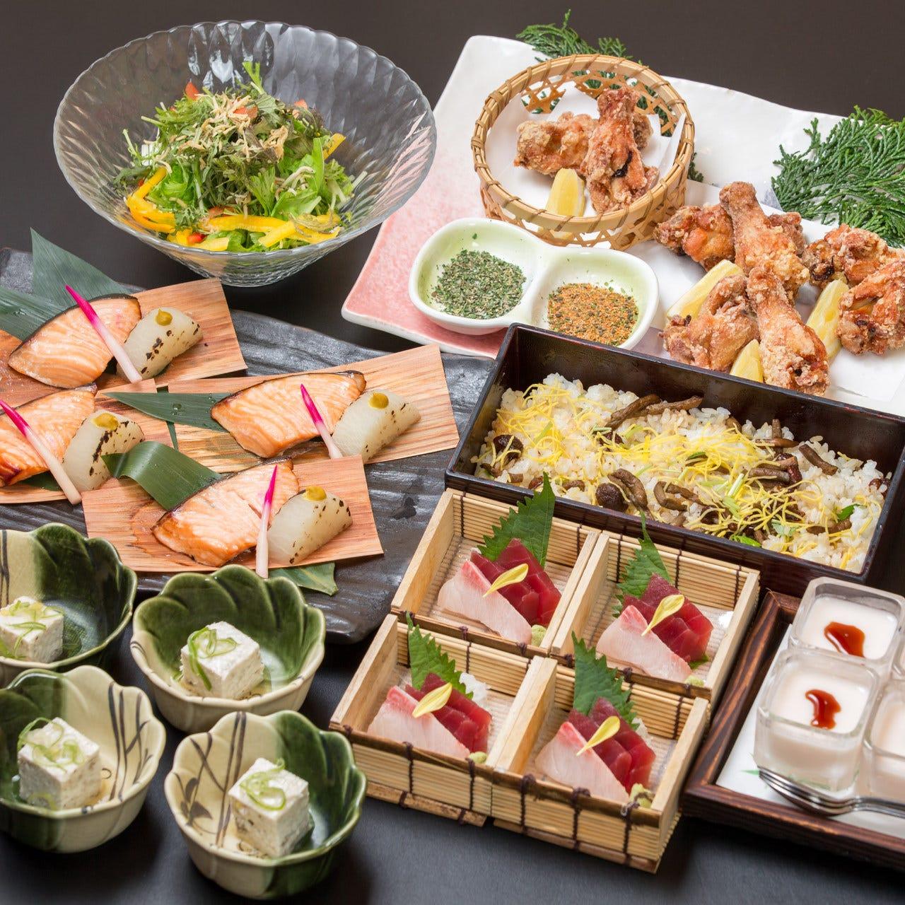 御食事のみ3,100円~コースを各種ご用意しております。