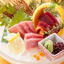 鮪中トロのお刺身 ~御造りやお鮨など本当に美味しいものをご提供致します~