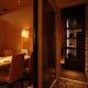 書斎をイメージした個室は接待や御食事に