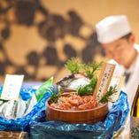 全国より仕入れる鮮魚、釣りもの、投げもの【北海道】