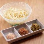【〆の逸品】 金武アグーの旨味が染み込んだ出汁で作る沖縄そば