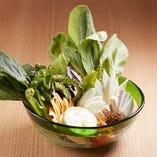 【島野菜】 味わい深い旬の島野菜の中には地元でも珍しいものも