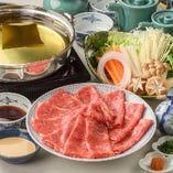 【逸品料理】とろける仙台牛しゃぶしゃぶに舌鼓