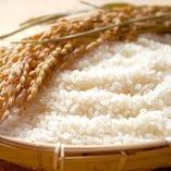日本各地から、厳選したお米を使用しております