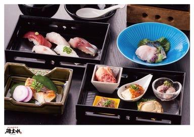 松江海鮮市場 鮨 主水‐もんど‐ コースの画像