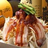 大阪名物ちりとり鍋!こだわりスープと自家製辛みその本場の味!
