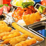 飲み放題付コースも各種ご用意!大阪の味を当店でご堪能下さい!