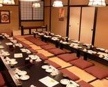 二階宴会場 最大32名様まで 落着いた和風の部屋