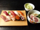 上寿司とミニ鴨ねぎうどんセット