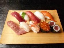 上寿司と茶碗蒸セット