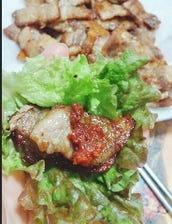 サムギョプサル&チゲ鍋コース <2時間 食べ放題&飲み放題>