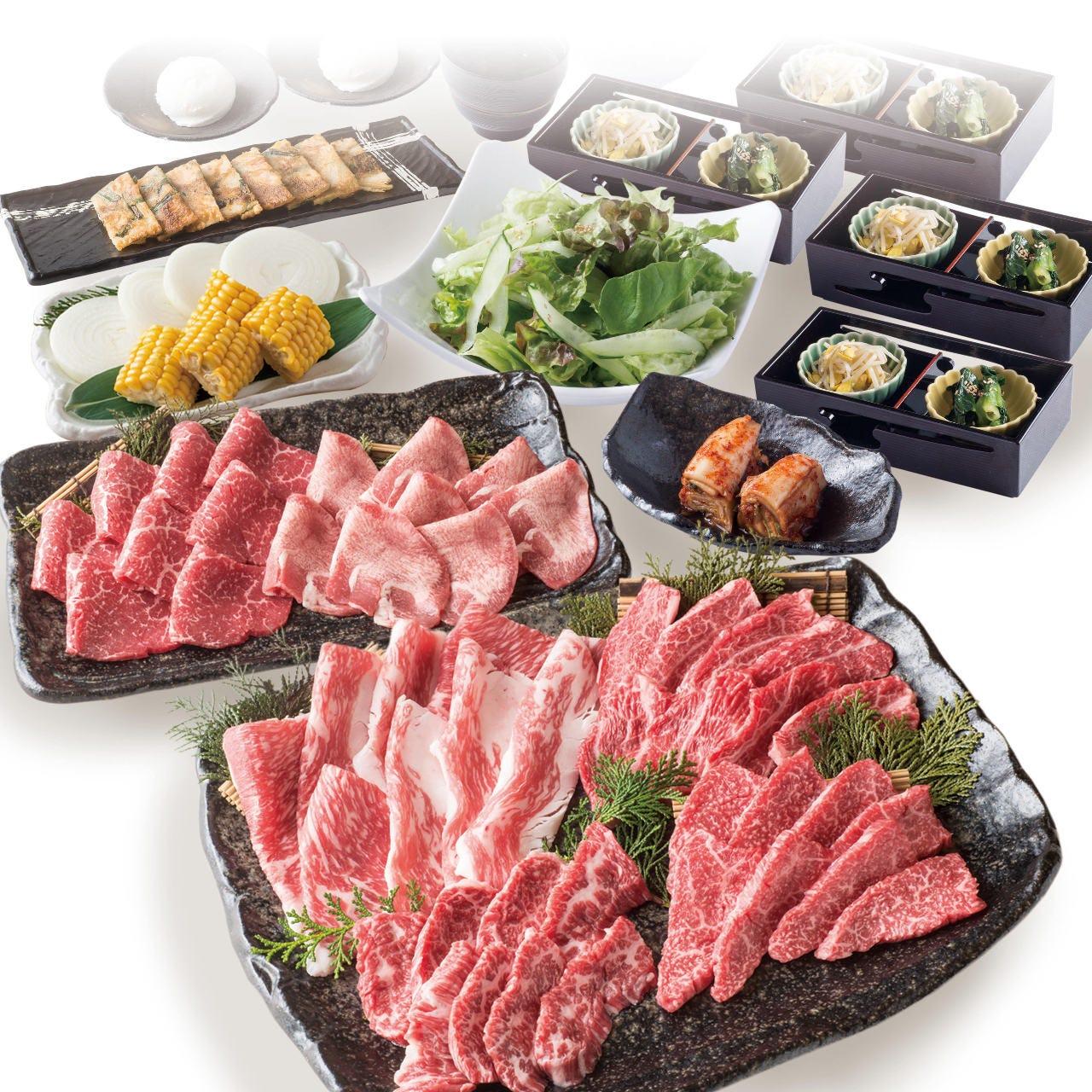 【和-yawaragi-コース】自慢の産直自社ブランド牛を堪能できるおすすめNo1! +1,500円で飲み放題