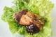 巻いて美味しい、シャキシャキ野菜。鹿児島のお味噌でどうぞ。