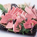 鹿児島県産のA4ランク以上の黒毛和牛【薩摩牛】です。 お好きな部位をご注文して下さい。