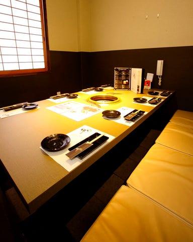 近江牛焼肉 霜月 近江八幡本店 店内の画像