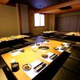 プライベートな個室空間でお肉との会話を楽しめます!