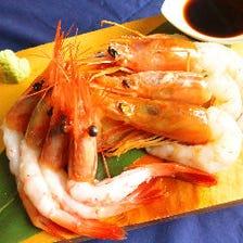 世界の海老・15種類以上の料理