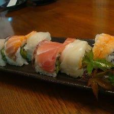 カラフルでかわいいロール巻寿司♪