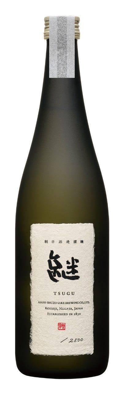 朝日酒造最高級酒「継」税込60,000円 一週間前までの要予約