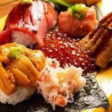 創作寿司を召し上がれ!