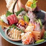 塩釜港カネミヤ魚店直送の地元の新鮮魚貝類が楽しめます!