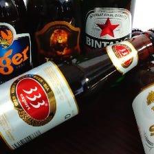 ≪ドリンク≫アジア各国のビール