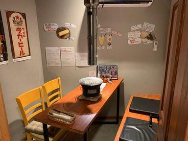 極み焼肉ホルモン清司 石岡店  店内の画像