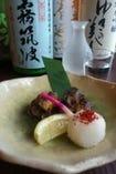 男鹿の棒あなご焼き(日本酒との合性抜群!!)