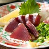 こだわりの鮮魚と日替りの酒菜をどうぞ!
