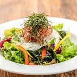 直送鮮魚の大漁海鮮サラダ