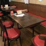 テーブル席 4名×4卓 【1階】