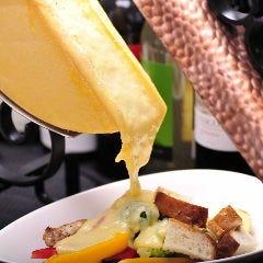 チーズとワイン BONNE RACLETTE