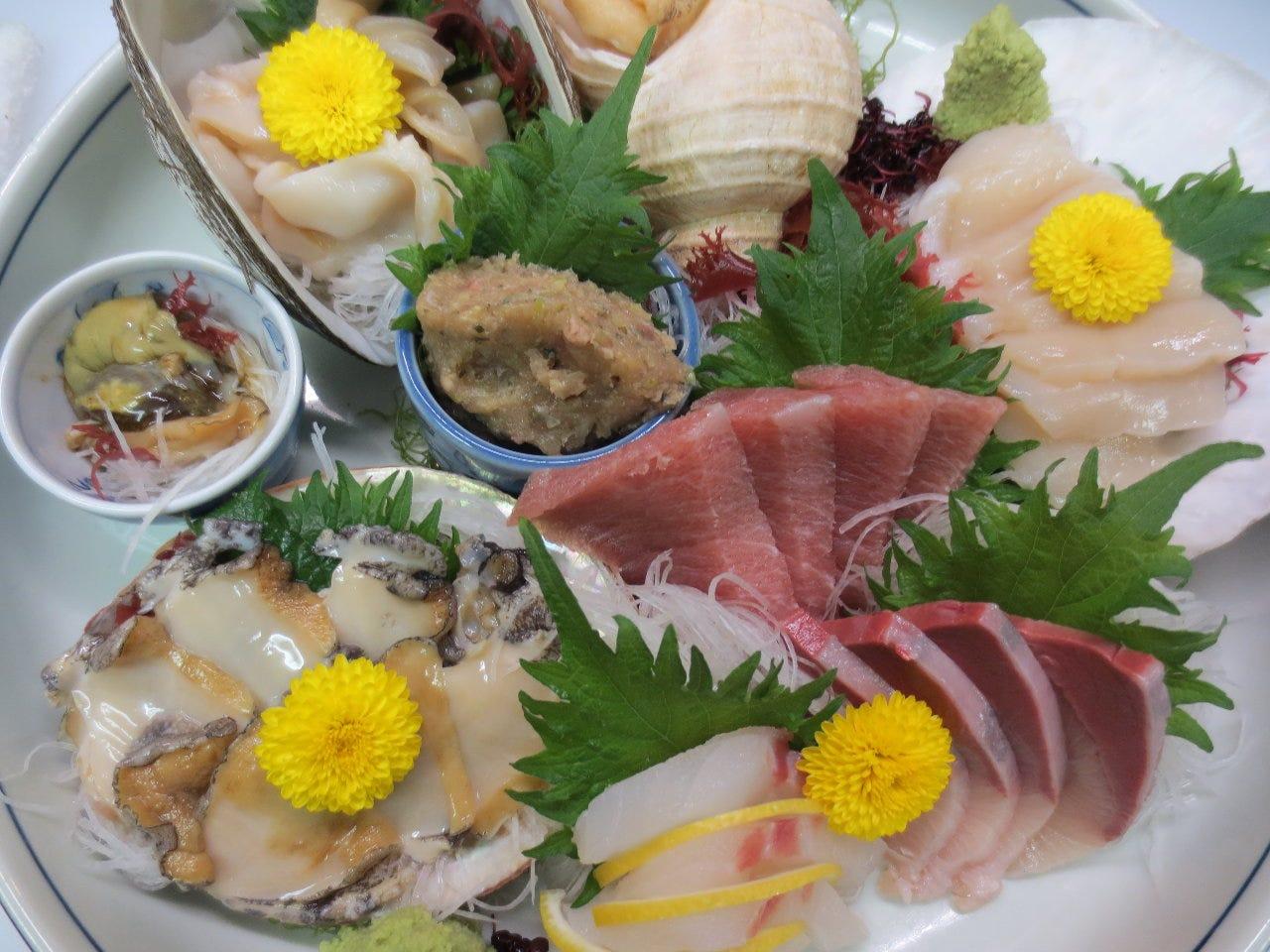 海鮮料理 おおいし
