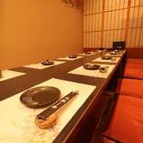 和モダンな掘り炬燵部屋やリゾートダイニング個室など、様々なタイプのお部屋をご用意