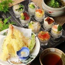 【お昼の御膳】銀杏小町寿司御膳◆1800円(税込み)