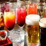 梅酒・果実酒・サワー・カクテルなど豊富な品揃え