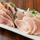 宮崎直送!鶏ももとムネ肉の2種類の部位のたたき