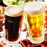 ご宴会はビールでまず乾杯!