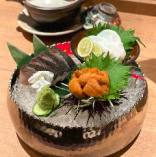 鮮魚のお造り三種