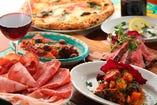 南イタリアの郷土料理も手頃な価格で味わえる。