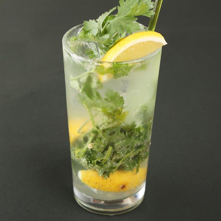 自然農のレモンのレモンサワー