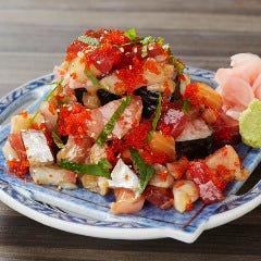 海鮮6種 こぼれ寿司