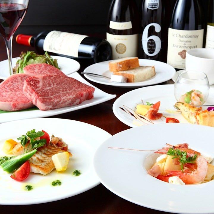 非日常を味わえる空間。絶品のお肉やワインに舌鼓をうつ。