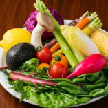 当店で使用する野菜は地元の朝採れの有機野菜を使用【栃木県】