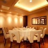接待、ご家族や友人のお集まりと幅広く御利用頂ける個室