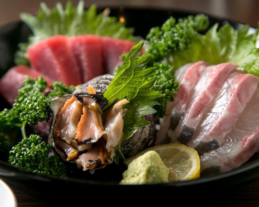 新鮮な旬魚お造り 確かな仕入れ!鮮度の良さ実感