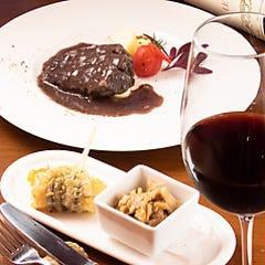 【120分飲放付】ピザやパスタに前菜も◎黒毛和牛ホホ肉の赤ワイン煮込みまで付いた満喫コース全9品6,500円