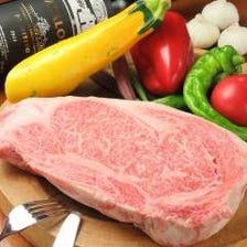 新鮮な食材♪お肉料理多数