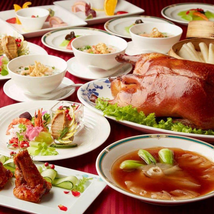 豪華食材を味わう、高級中華に舌鼓